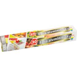 Folia aluminiowa 30m kartonik PP /5871/