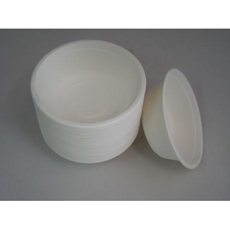 Miska NATURA  400ml biała 50szt/opak