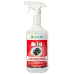 ALU RED 1L - preparat do usuwania metalicznych zanieczyszczeń z felg i lakieru