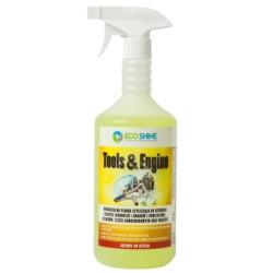 TOOLS&ENGINE 1L - uniwersalna pianka czyszcząca do usuwania silnych zabrudzeń i smarów z powierzchni, silników, części, narzędzi