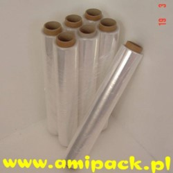 Folia stretch bezbarwna 1,2kg netto 1 rolka (6)