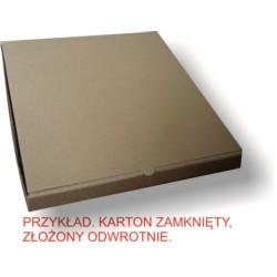 50X50 Karton do pizzy MNIAM MNIAM BBKTOWAR PRZECENIONY