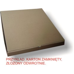 31X31 Karton do pizzy GARDEN 4 YOU