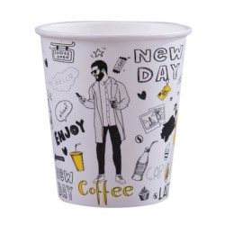 Kubek pap. 400ml  NEW DAY  50op [10kr]