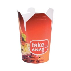 Pojemnik papier. KEBAB BOX TAKE AWAY  750ml 50szt /10X50/